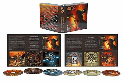 Ac/dc – Hell's Radio: The Legendary Broadcasts 1974-'79 - 6 Cd Set - On Sale!!