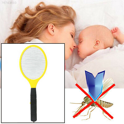 4C22 Electric LED Anti Mosquito Swatter Bug Zapper Killers Tool Racket Home^