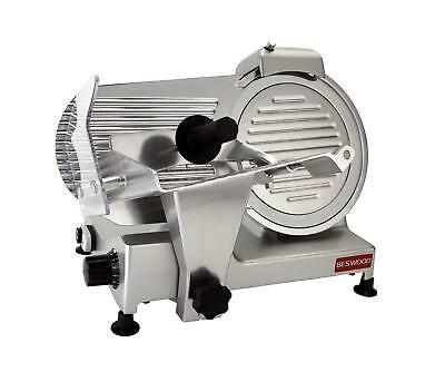 """Beswood 10"""" Premium Chromium-Plated Carbon Steel Blade Electric Deli Meat Cheese"""