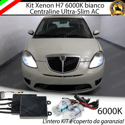 Kit Xenon Xeno H7 Ac 6000K 35W Specifico Lancia Ypsilon 312  100% No Error