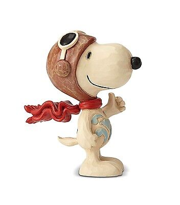 Peanuts - Snoopy Flying Ace Jim Shore Mini Figurine 6001295