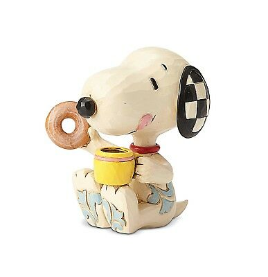 Peanuts - Snoopy Donut & Coffee Jim Shore Mini Figurine 6001297
