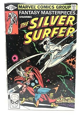 Fantasy Masterpieces #4 Featuring Silver Surfer & Thor Reprint Marvel Comics VF-