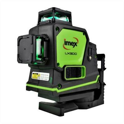 Brand New IMEX Imex 3D Multi-Line Laser With 3 x 360o Lines - Green Beam