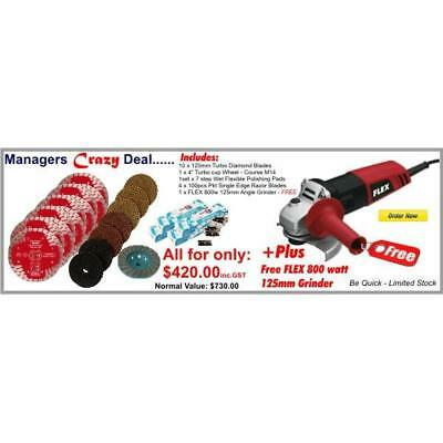 Brand New Stonex Managers Crazy Deals - With Free FLEX 125mm Angle Grinder