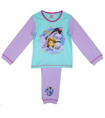 BNWT Baby Girl Disney Sofia Princess 18-24 Cotton Nightwear Pyjamas Trousers Set