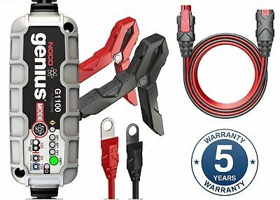 Noco Genius G1100 6V & 12V Motorcycle Battery Charger & Maintainer 1.1Amp NEW