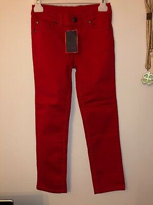 🎁New Paul Smith Boys Skinny, Fitted Jeans, Size Age 8a, Red
