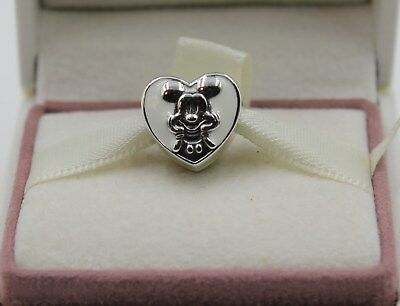 AUTHENTIC PANDORA Disney, Vintage Mickey, 797169EN12   #1189