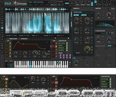 iZotope Iris 2 + Trash 2 Expanded Bundle eDelivery JRR Shop