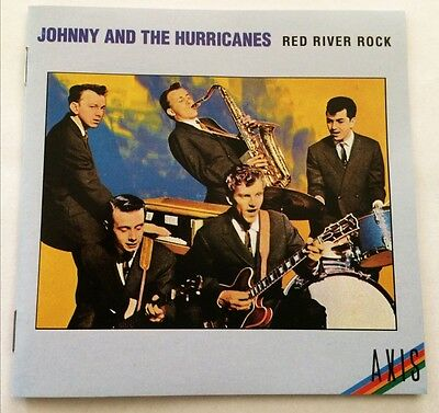 JOHNNY & THE HURRICANES Red River Rock CD oz EMI 1959-1960 recordings Warwick
