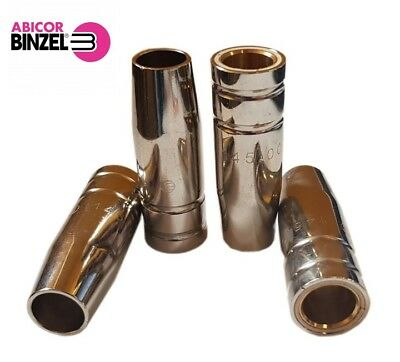 Abicor Binzel Original Gas Nozzle Conical MIG Shroud MB14AK MB15AK 145.0075 53mm