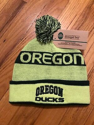 d4994e50a7c OREGON DUCKS UO Green NCAA 47 Brand Cuff Knit Pom Hat One Size ...