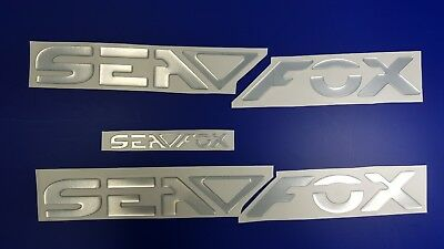 "SEA FOX boat Emblem 24"" + FREE FAST delivery DHL express - stickers decal"