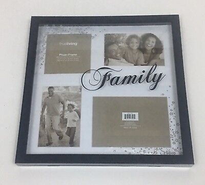 Collage Picture Frames One 4.5x4.5, Two 4x6, And One 5x7 With Floral