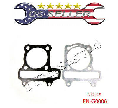 57mm Head Gasket Set Engine Cylinder for GY6 150cc Chinese Scooter ATV