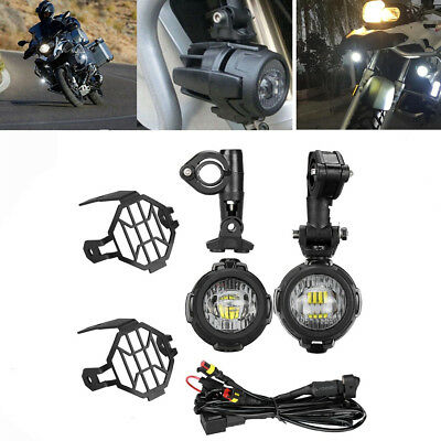 Motorcycle LED Auxiliary Fog Light Assemblie Driving Lamp For BMW R1200GS/ADV