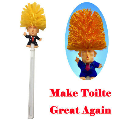 WR Donald Trump Toilet Brush Make Toilet Great Again Funny Gag Gift The Perfect
