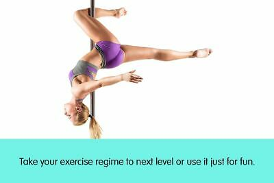 Professional Spinning Dance Pole Portable Static Dancing Steel Fitness Exercise