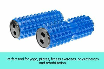 Foam Massage Roller Acupressure Muscle Point Massager for Physical Therapy Blue