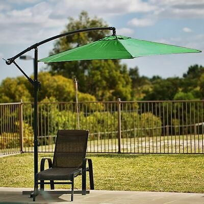 Hanging Cantilever Sun Shade Outdoor Patio Stylish Umbrella Water Resistant