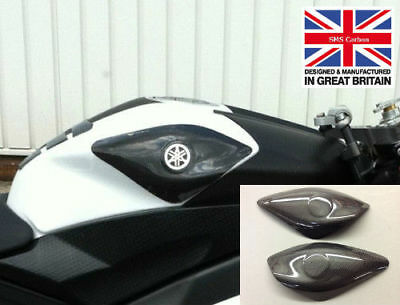 Yamaha R6 2006 - 2007 Carbon Fibre RACE Fuel Tank Sliders protectors with Kevlar