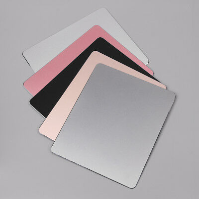 Aluminum Alloy Mouse Pad Metal Ultra Thin Gaming Mice Mat For PC MacBook Laptop