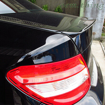 Painted 2008-2013 Mercedes BENZ W204 A-Type Rear Trunk Spoiler 775 4D ABS