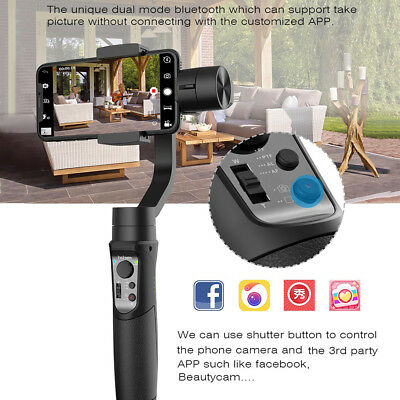 Hohem iSteady 3-Axis Handheld Gimbal Stabilizer for iPhone X 8 Plus Samsung