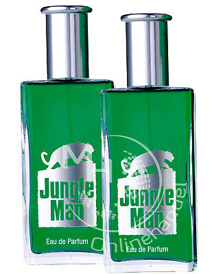 LR Jungle Man 2x 50ml Eau de Parfum (39,89€/100ml) EdP