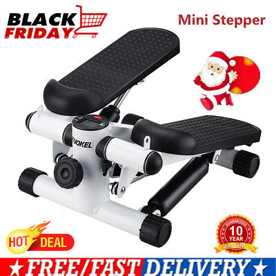 Mini Stepper Leg Arms Toner Exercise Trainer Gym Sport Fitness Workout Machine