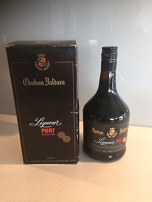 Chateau Yaldara Liqueur Port. 1984 Gold Medal Winner.