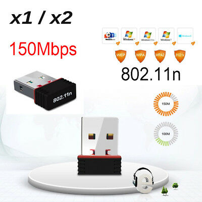 Nano USB Wireless N 802.11n Mini WiFi N Network Adaptor Dongle for PC Laptop