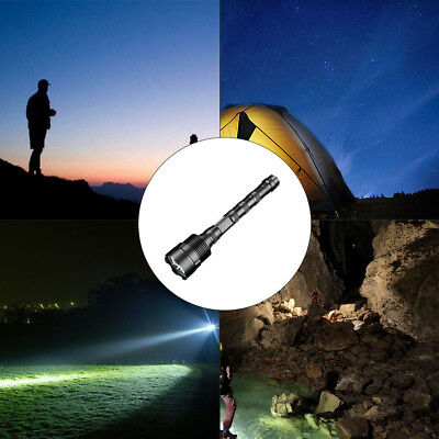 14LEDs T6 LED Flashlight Torch Super Bright Tactical 90000LM 18650 Rechargeable