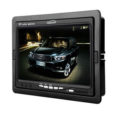 "CARCHET 7"" TFT LCD Screen Monitor DVD DVR for Car Rear View Backup Camera"