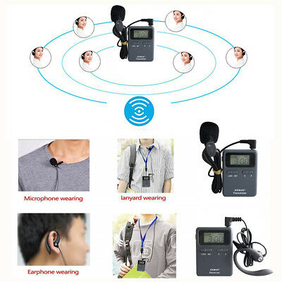 Long Distance Wireless Tour Guide System EX-815 99 Channels For Lecture Speech