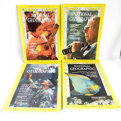National Geographic Magazines x 4 Job Lot Voumes 1 30 - 167 - 130 - 130 No 3