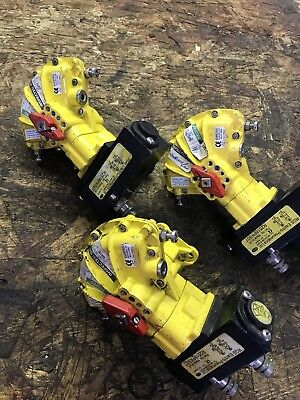 3x Kinetrol 030 Pneumatic Valve Actuators