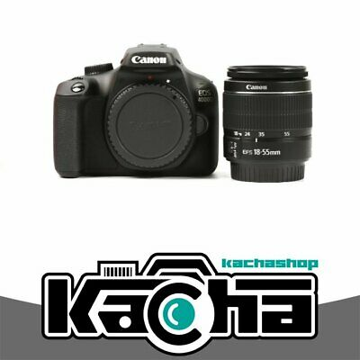 SALE Canon EOS 4000D Digital SLR Camera with EF-S 18-55mm f/3.5-5.6 III Lens