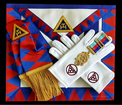 masonic regalia-ROYAL ARCH- COMPANION/PRINCIPAL/PROVINCIAL CHAPTER PACKAGES NEW