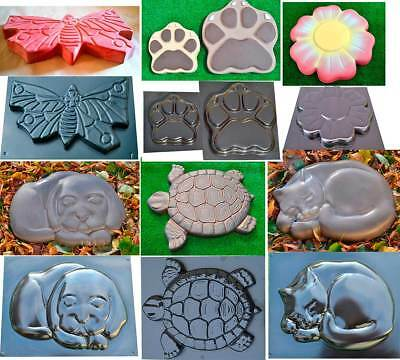 DECORATIVE Stepping Stone Mold Concrete Cement Mould ABS garden path