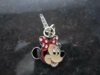 MINNIE MOUSE With Bow Mobile Phone, Dangle Charms Tablet, Dust Plug