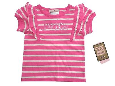 BNWT BABY GIRLS NEON PINK COTTON TOP BY TAPE A L/'OEIL FADED EFFECT AGES 3-23 M