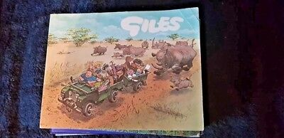 Giles Comics, Entertaining, Colourful Books, Lot of 7 Very Good Condition