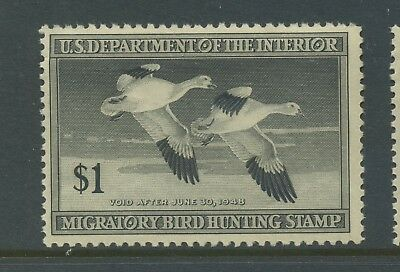 Scott #RW14 'SNOW GEESE' Federal Duck Mint Stamp NH (Stock #RW14-11)