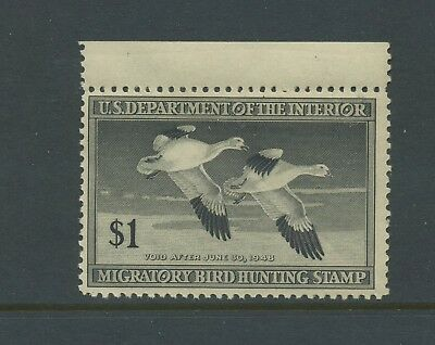 Scott #RW14 'SNOW GEESE' Federal Duck Mint Stamp NH (Stock #RW14-14)
