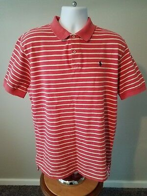 Brave Mens Old Navy Classic Salmon 100% Cotton Short Sleeve Polo Shirt Size Xl Great Varieties Clothing, Shoes & Accessories