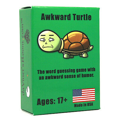 Awkward Turtle The Word Card Game for Adults [A Party Game]. beenyoo