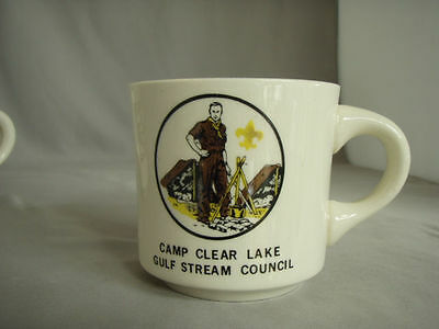 Boy Scout Coffee Mug: Camp Clear Lake Gulf Stream Council (FL)