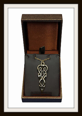Bronze Age ~ Merlin's Spear ~ Celtic Pendant Necklace ~ From St. Justin Free P&p